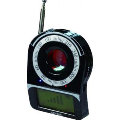 53,95 € Envio grátis | Detectores de Sinal Detector Anti-Spy de banda completa. Detector de câmera oculta