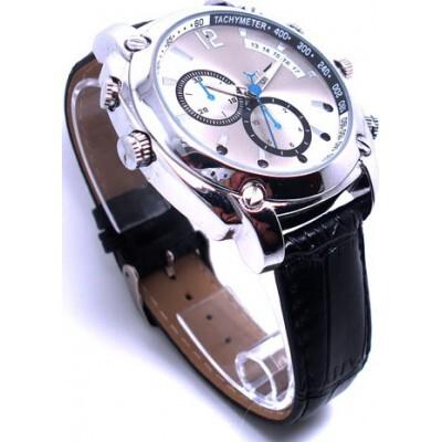 49,95 € Бесплатная доставка | Шпионские наручные часы Шпионские часы. Высокое разрешение. ИК инфракрасная камера ночного видения 8 Gb