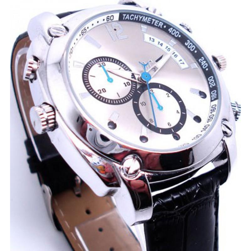 49,95 € 免费送货 | 观看隐藏的相机 间谍手表。高清晰度。红外夜视摄像机 8 Gb