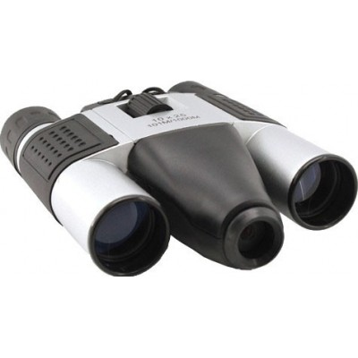 Câmera digital binocular. Zoom 10x. 1,3 MP. Slot para cartão TF. Binóculos