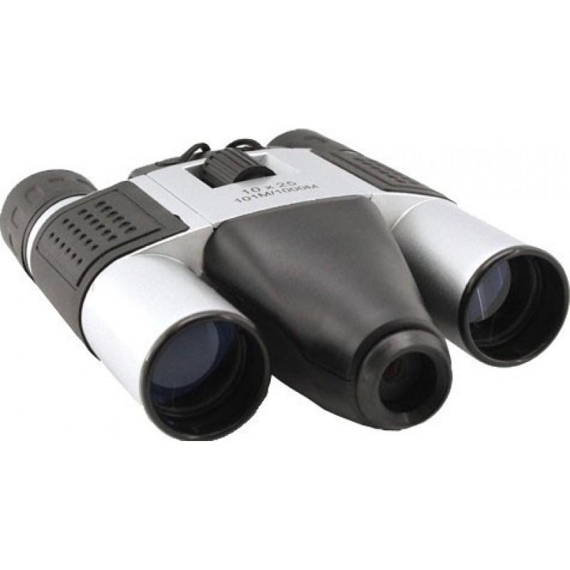 Скрытые шпионские гаджеты Цифровая бинокль. 10-кратный зум 1,3 МП. Слот для TF-карты. Бинокль