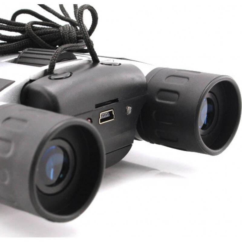 Gadgets Espion Caméra binoculaire numérique. Zoom 10x. 1,3 MP. Fente pour carte TF. Jumelles