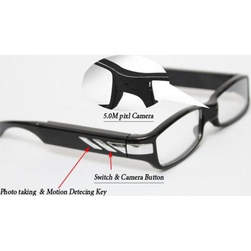 53,95 € Kostenloser Versand | Brillen mit verstecktern Kameras Mode Spion Brillen. Sonnenbrille versteckte Kamera. Spionage-Kamera. Digitaler Videorecorder (DVR). 5 Megapixel 1080P Full HD