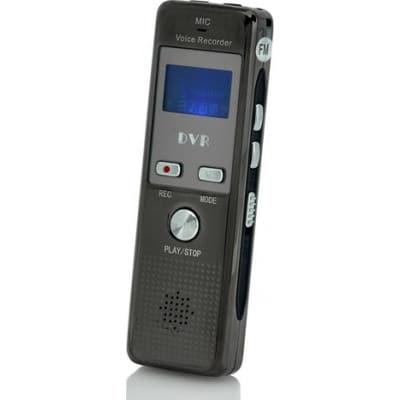 Détecteurs de Signal Enregistreur audio numérique. Activation vocale. Enregistrement téléphonique. radio FM 4 Gb