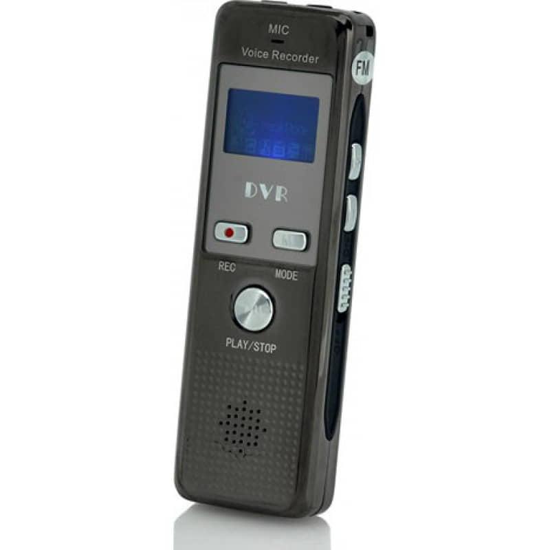 Signalmelder Digitaler Audiorecorder. Sprachaktivierung. Telefonaufnahme. FM-Radio 4 Gb