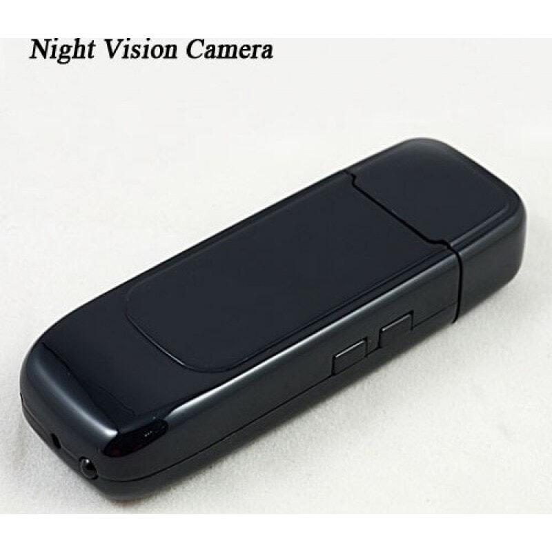 41,95 € 免费送货 | USB驱动器隐藏式摄像头 USB间谍相机。闪存盘。隐藏的相机。数字录像机(DVR)。红外夜视。 TF卡槽 1280x960