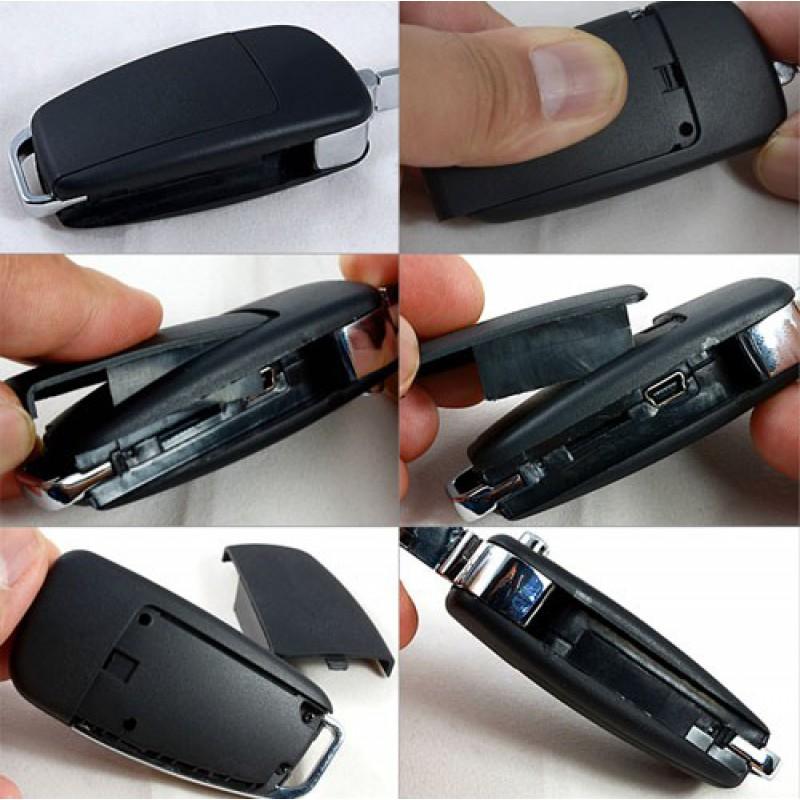 44,95 € Бесплатная доставка   Шпионские ключи Мини автомобильный цифровой видеорегистратор. Шпионская камера. Скрытая видеокамера DVR. Слот TF 1080P Full HD
