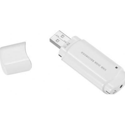 USB Drives Espía Mini USB Flash drive grabador de audio. Ranura para tarjetas TF. Tiempo de grabación ultra largo 720P HD
