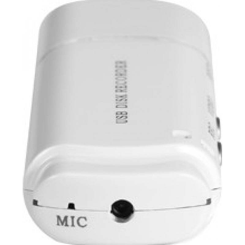 Clé USB Espion Enregistreur audio mini-clé USB. Fente pour carte TF. Temps d'enregistrement ultra-long 720P HD