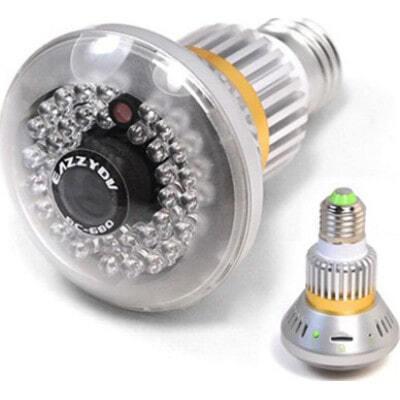 96,95 € Free Shipping | Other Hidden Cameras 1/4 CMOS sensor. Night visible bulb. CCTV Camera. 36pcs IR LEDs. Night vision. Motion detection function