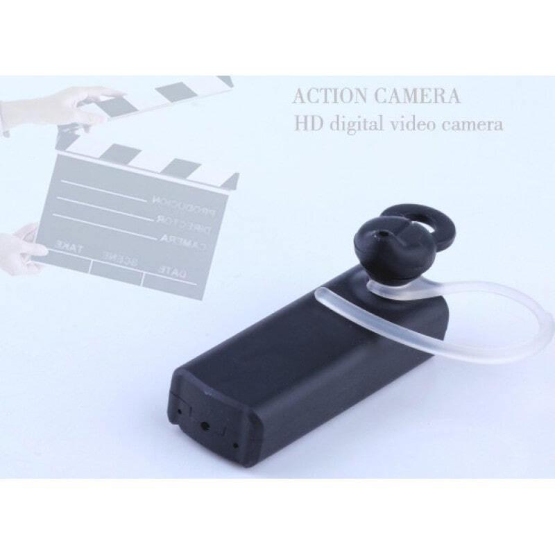 45,95 € Envoi gratuit | Autres Caméras Espion Écouteur bluetooth espion multifonctionnel. Casque mini caméra cachée en forme. Enregistreur vidéo numérique (DVR). Détection de 720P HD