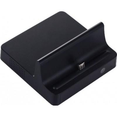 Autres Caméras Espion Chargeur de station d'accueil pour téléphone portable avec caméra cachée. Port micro USB. Télécommande 720P HD