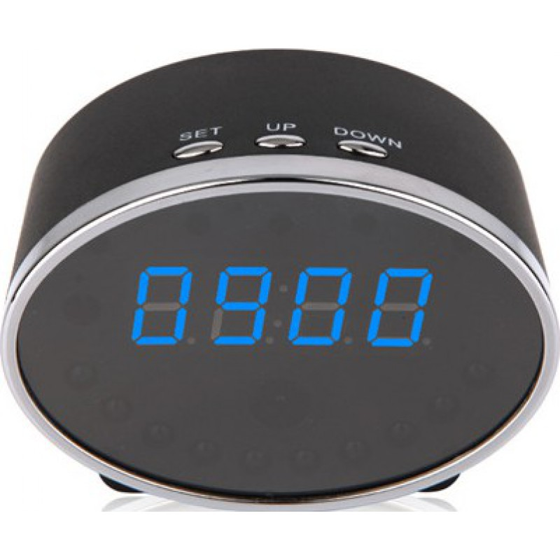 Uhr versteckte Kameras 140 Grad digitale Spionageuhr. Alarmfunktion. Versteckter digitaler Videorecorder (DVR). W-lan. Bewegungserkennung. Spion Uhrenk 1080P Full HD