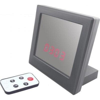 Home security camera. Mirror clock spy hidden camera. Pinhole CMOS Camera. Digital video recorder (DVR). HD Camera 1080P Full HD