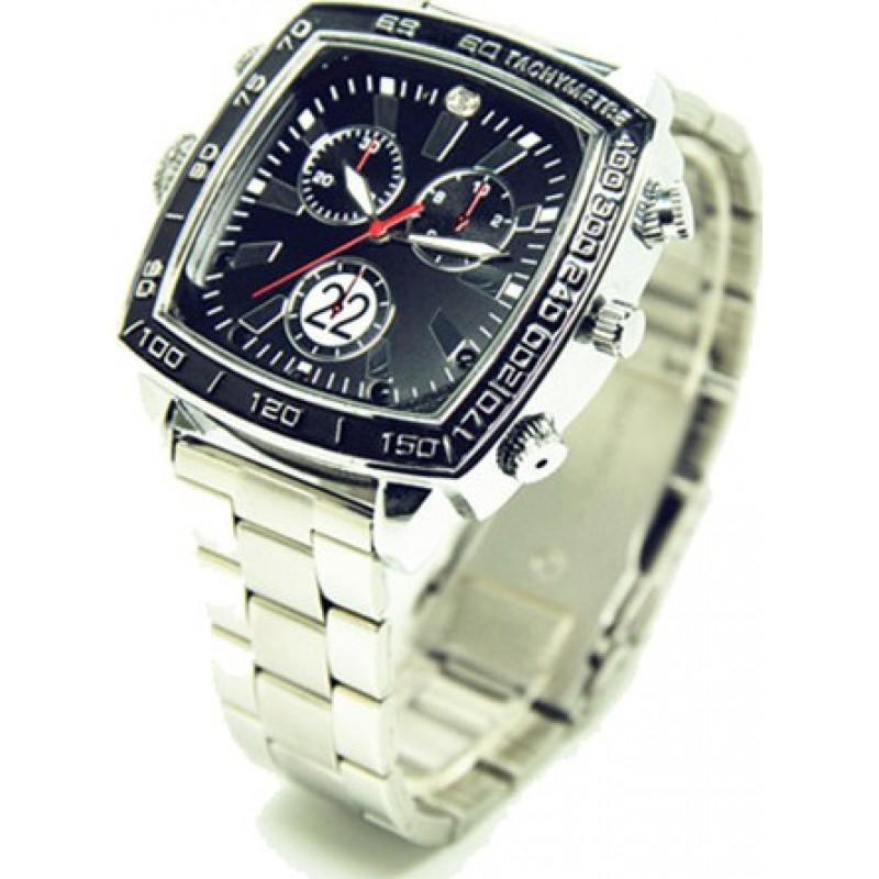 Armbanduhren mit versteckten Kameras Wasserdichte Sportkamerauhr. Versteckte Überwachungskamera. Audio- / Videorecorder. Mini DVR Sportuhr. IR Nachtsicht 8 Gb 1080P Full HD