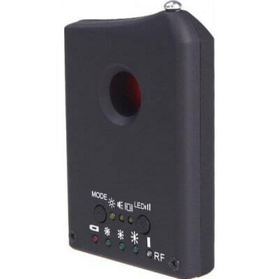33,95 € Envio grátis | Detectores de Sinal Dispositivo anti-espião sem fio. Sinal da câmera e detector de lentes. Detector de sinal GPS e rastreador. Câmera escondida mini