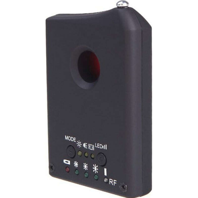 33,95 € Free Shipping   Signal Detectors Wireless anti-spy device. Camera signal and lens detector. GPS signal detector and tracker. Hidden mini RF camera. GSM. Audio