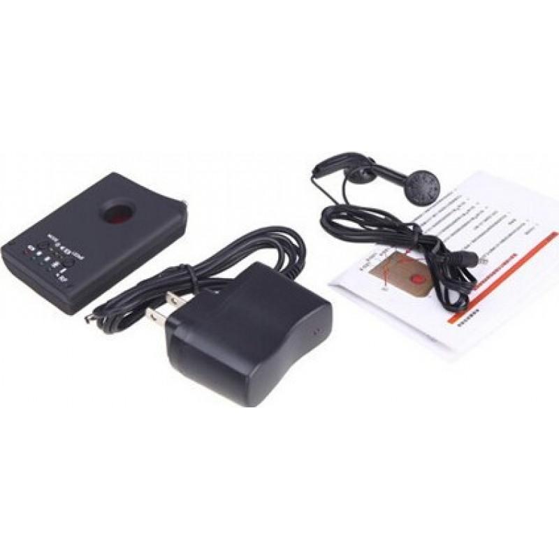 33,95 € Envoi gratuit | Détecteurs de Signal Dispositif anti-espion sans fil. Signal de caméra et détecteur d'objectif. Détecteur de signal GPS et traqueur. Mini caméra cach