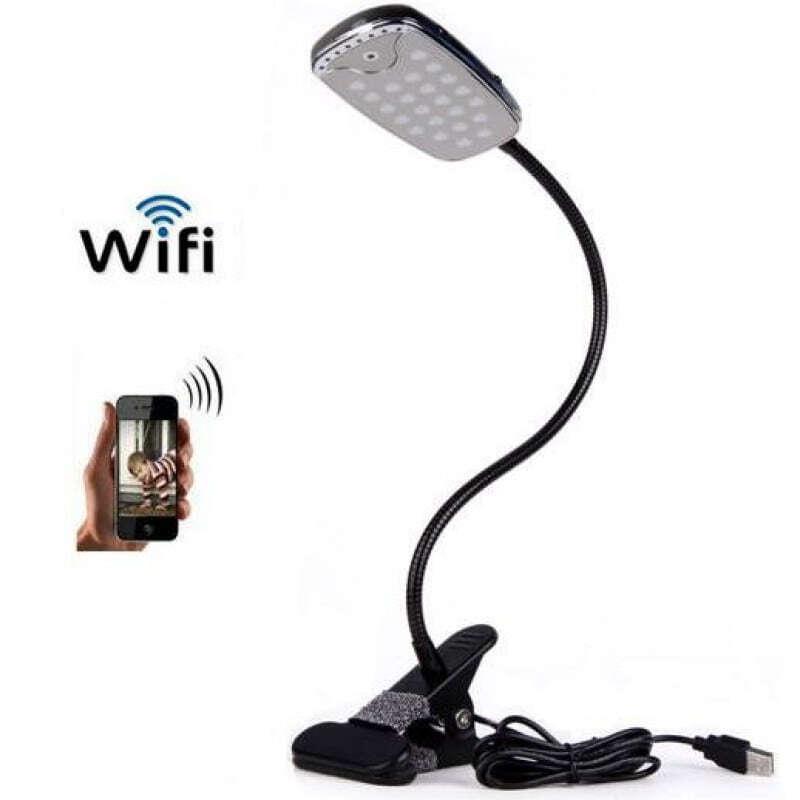 44,95 € Envoi gratuit | Autres Caméras Espion Caméra espion lampe de table. H264 / WiFi. Caméra cachée. Vision nocturne IR 1080P Full HD