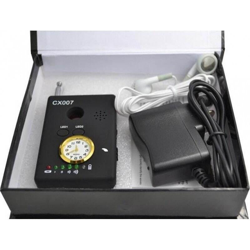 35,95 € Free Shipping | Signal Detectors Anti-spy camera detector. Full range all around. Wireless laser signal finder. Hidden camera detector