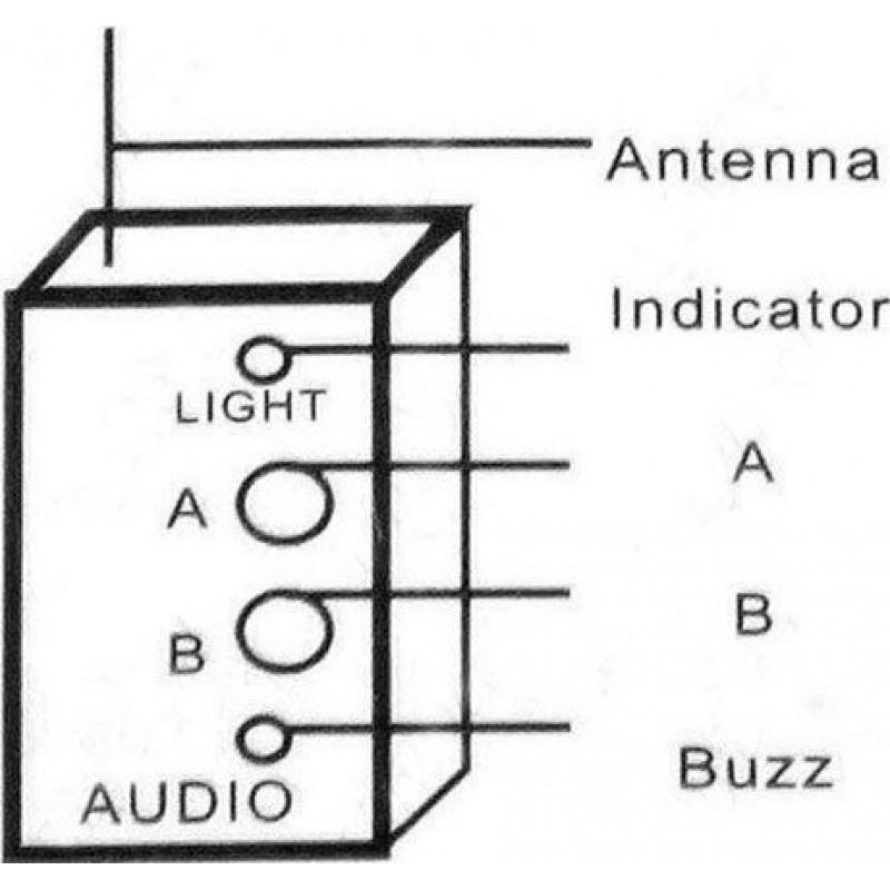 Signalmelder Funk-Funksignalerkennung. Verstecktes Mini-Anti-Spion-Gerät