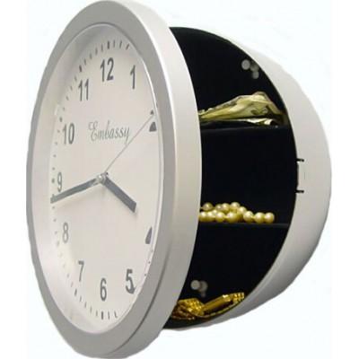 Wall clock shaped security cash box