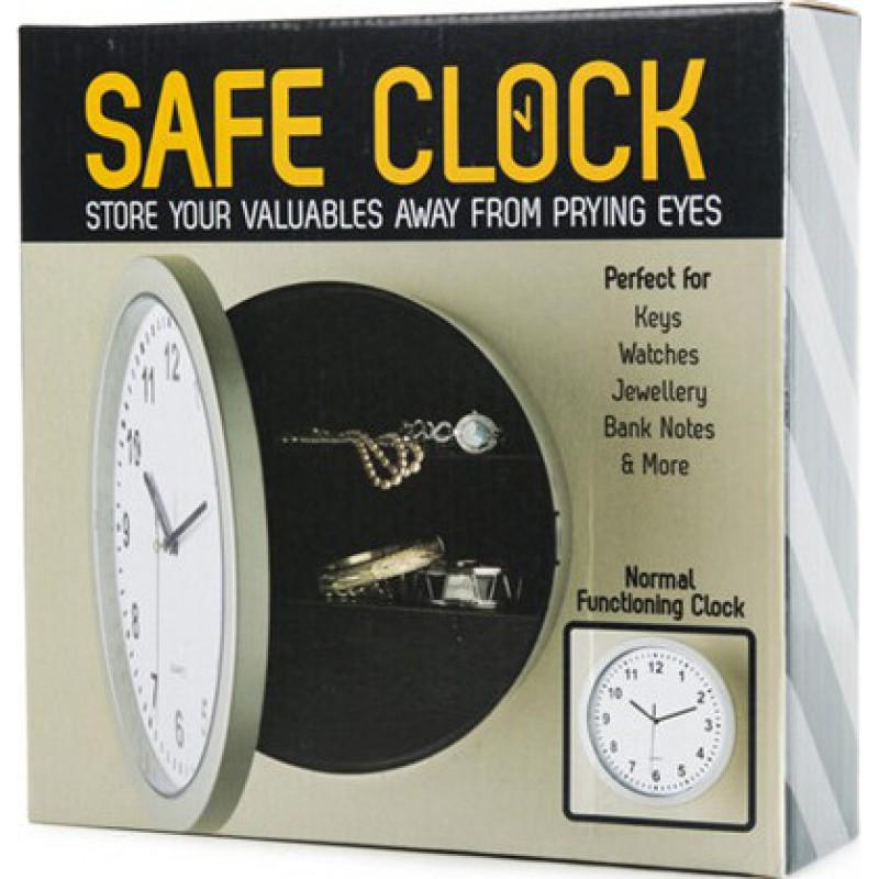 Gadgets Espion Horloge murale en forme de caisse de sécurité