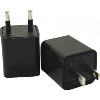 44,95 € Envoi gratuit | Autres Caméras Espion Mini caméra cachée (DVR). Adaptateur chargeur. Chargeur de prise US / EU. Mémoire interne 8 Gb 1080P Full HD