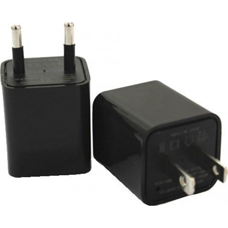44,95 € Free Shipping | Other Hidden Cameras Mini hidden camera (DVR). Adapter charger. US/EU Plug charger. Internal memory 8 Gb 1080P Full HD