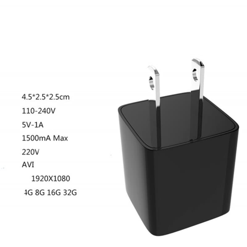 44,95 € Envoi gratuit   Autres Caméras Espion Mini caméra cachée (DVR). Adaptateur chargeur. Chargeur de prise US / EU. Mémoire interne 8 Gb 1080P Full HD