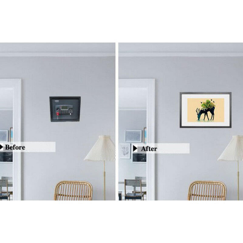 Hidden Spy Gadgets Home security decoration picture frame for hiding and covering safe