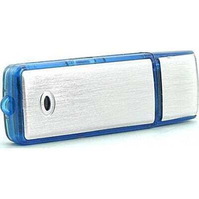 USB闪存盘隐藏式录音机。数字录音机 8 Gb
