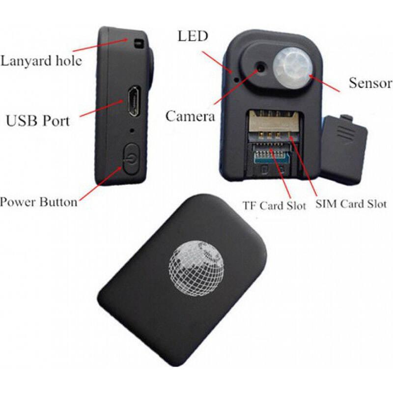 Autres Caméras Espion Localisateur GPS avec caméra espion. Fonction d'alarme