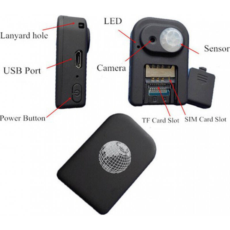 Other Hidden Cameras GPS locator with spy camera. Alarm function