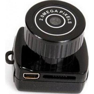 29,95 € Envio grátis | Outras Câmeras Espiã Mini câmera espiã. Mini câmera escondida para PC. Gravador de vídeo digital (DVR). Filmadora 480P HD