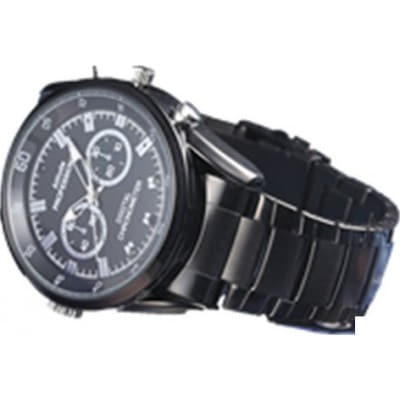Fashio style spy camera watch. Video/Audio recorder. Automatic IR Night vision 1080P Full HD