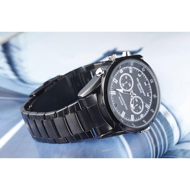Montres à Bracelet Espion Montre caméra style espion. Enregistreur vidéo / audio. Vision nocturne automatique IR 1080P Full HD