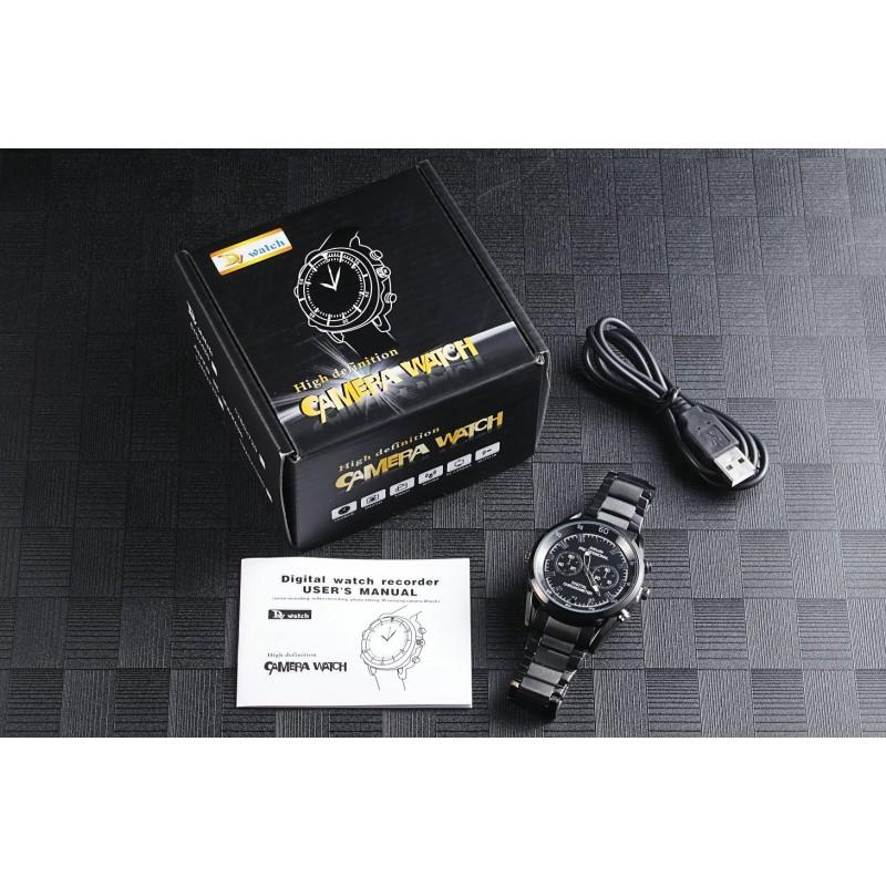 Watch Hidden Cameras Fashio style spy camera watch. Video/Audio recorder. Automatic IR Night vision 1080P Full HD