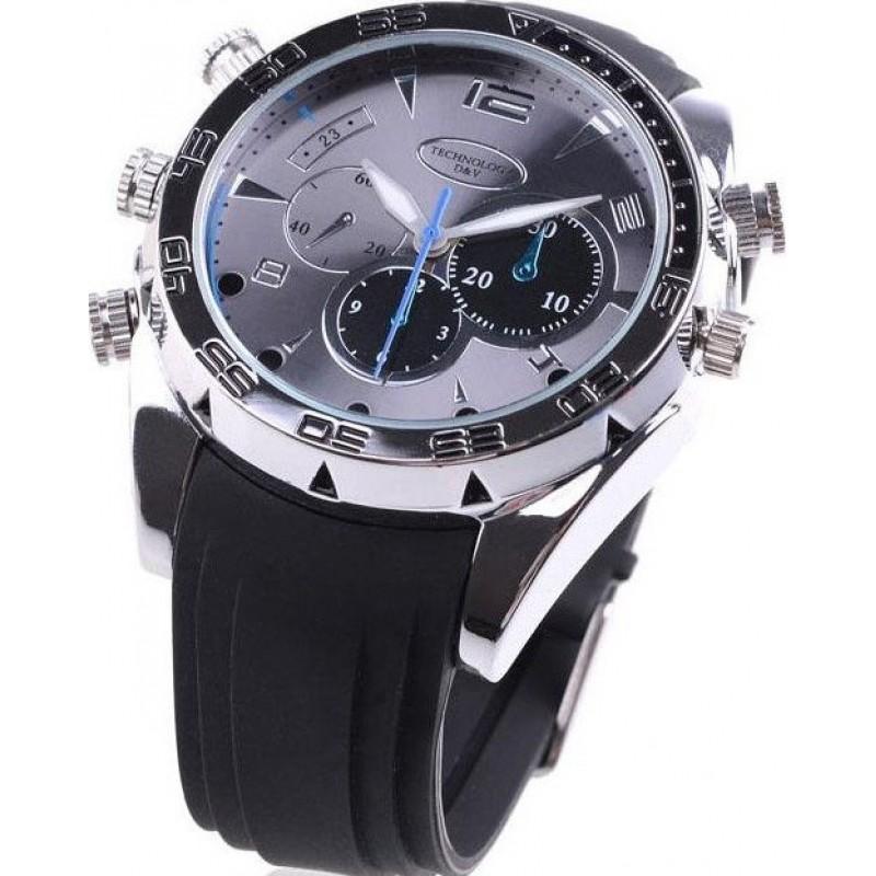 46,95 € Envío gratis   Relojes de Pulsera Espía Reloj espía resistente al agua. Cámara oculta. Función de cámara de PC. Visión nocturna. Visualización en tiempo real 1080P Full HD