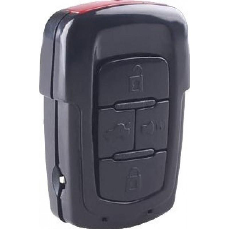 汽车钥匙隐藏的相机 车钥匙隐藏的摄像头。夜间视力。运动检测。遥控。 TF卡插槽