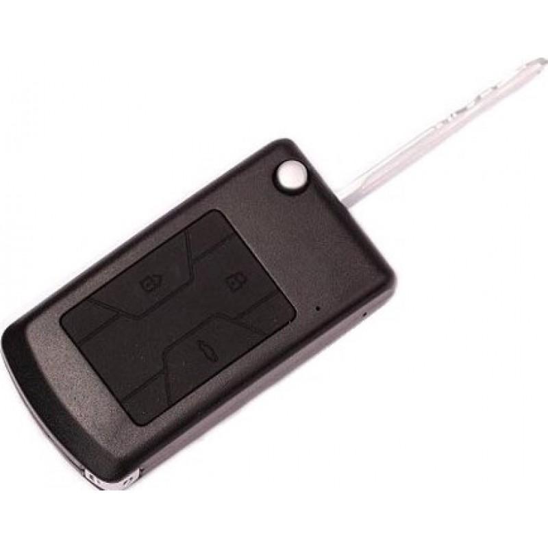 Clés Espion Caméra espion clé de voiture. Détection de mouvement. Enregistreur vidéo numérique caché (DVR). HDMI 720P HD