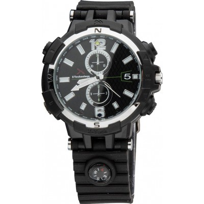 75,95 € Бесплатная доставка | Шпионские наручные часы WiFi Spy часы. Контролируется и просматривается с вашего мобильного телефона. Скрытая камера. ИК ночного видения. Определение дв 720P HD
