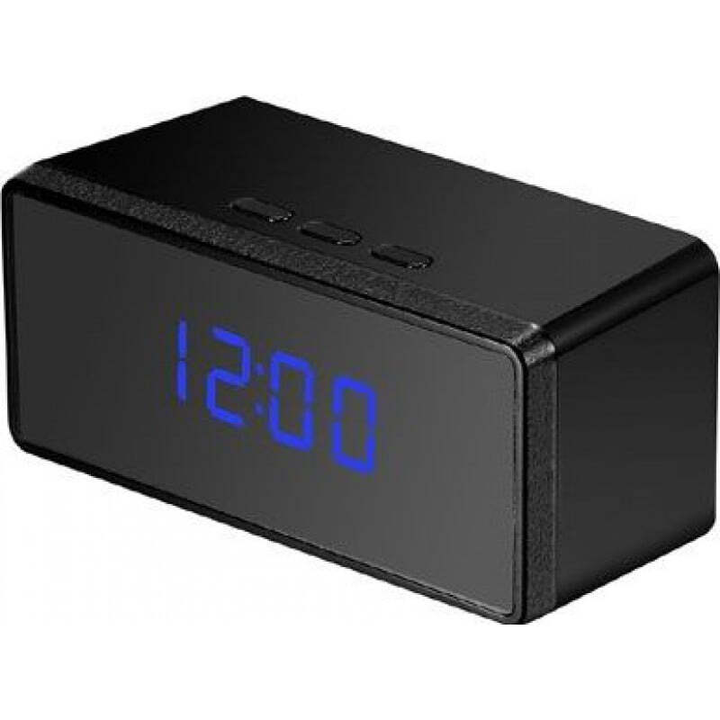 Montres Espion Caméra d'horloge cachée. Batterie grande capacité. Vision nocturne IR 1080P Full HD