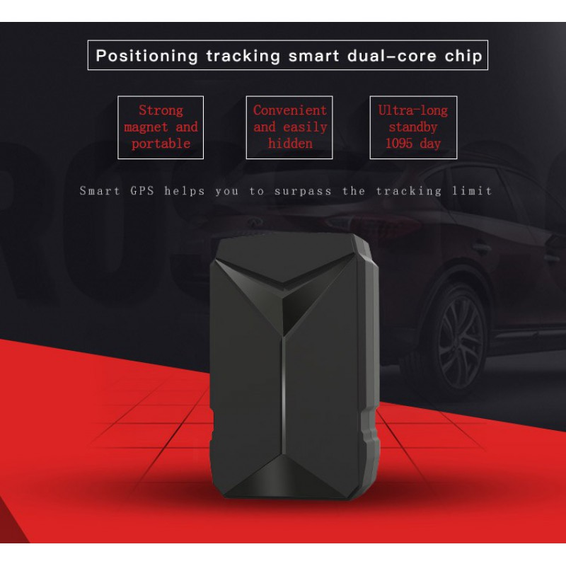 Signal Detectors Real-Time mapping mini tracker. 100 days GPS tracking data. 1095 Days standby. Geo-Fencing. No monthly fee