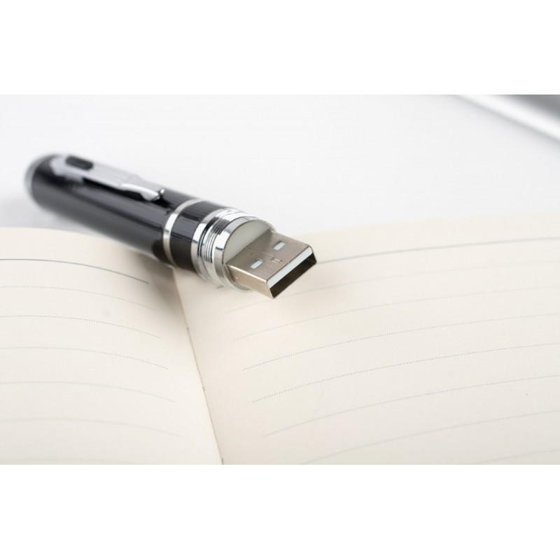 Stift mit Versteckter Kamera Hochwertiger Spionage-Stift. Digitaler Videorecorder (DVR). Versteckte Kamera