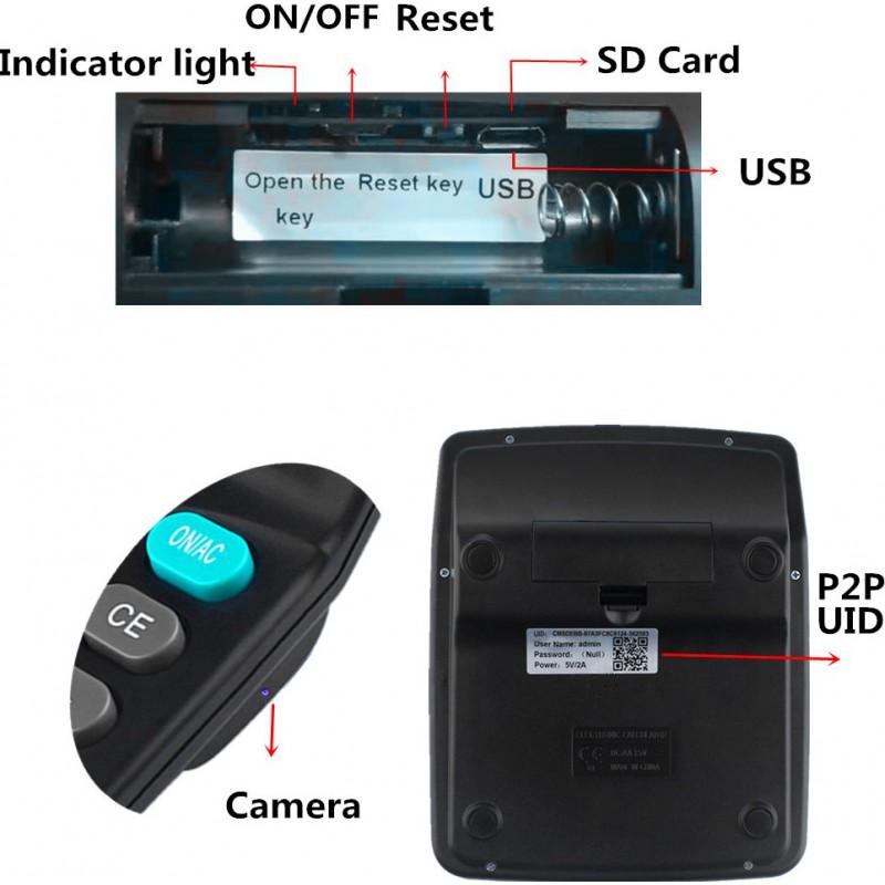 59,95 € 免费送货   其他隐藏的相机 间谍计算器。隐藏的相机。数字录像机(DVR)。隐藏的相机。无线上网。由手机查看或控制。动作侦测 1080P Full HD