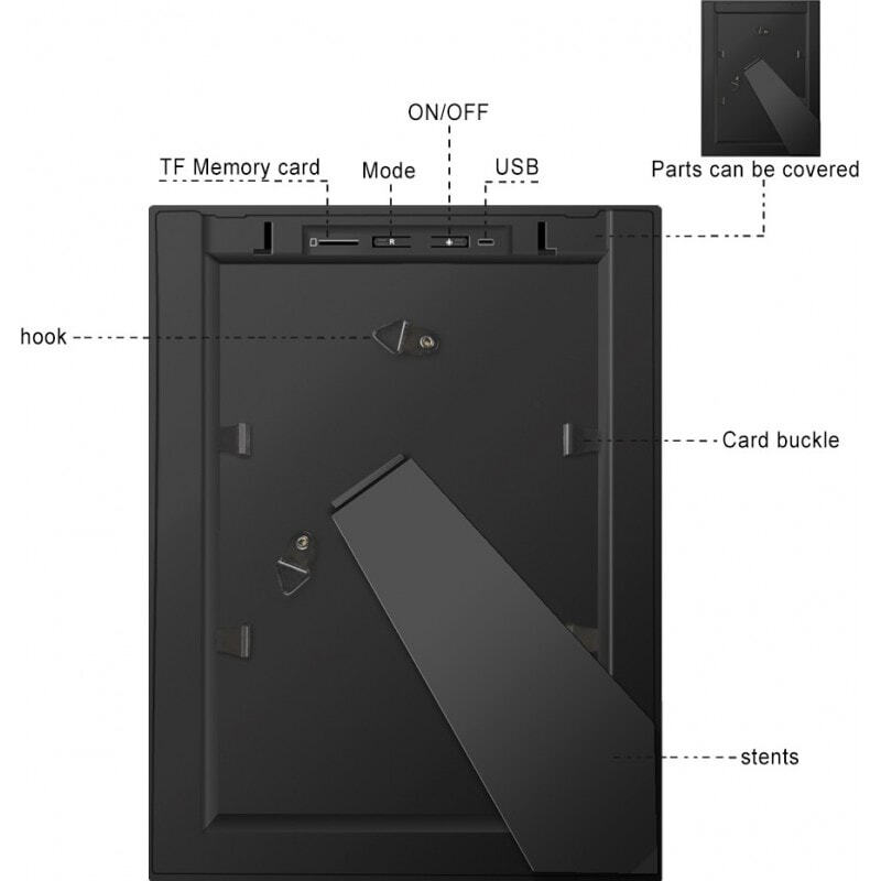 Other Hidden Cameras Spy photo frame. Hidden camera. IR Night vision. Motion detection. WiFi. Viewed and controlled remotely by cell phone 1080P Full HD
