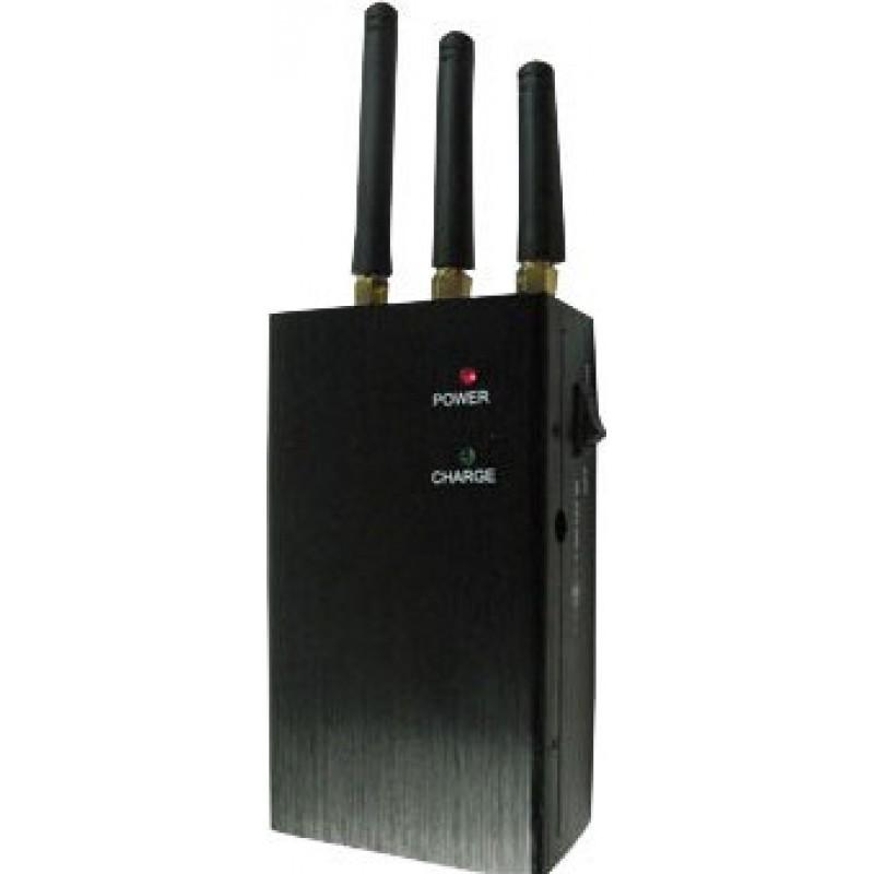 47,95 € Kostenloser Versand   Handy-Störsender Mobiler Hochleistungs-Signalblocker GPS GSM Portable