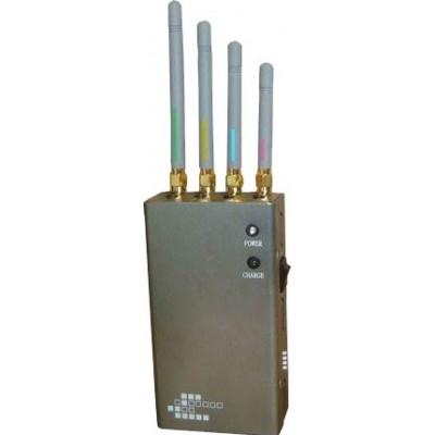 5 bandes. Bloqueur de signal portable GPS