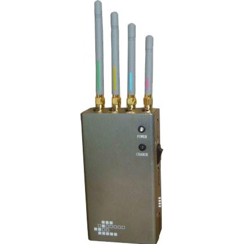 62,95 € 免费送货   手机干扰器 5个乐队。便携式信号阻断器 GPS 3G Portable